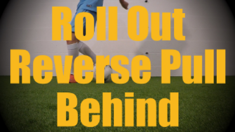 Roll Out Reverse Pull Behind - Static Ball Control Drills for U12-U13