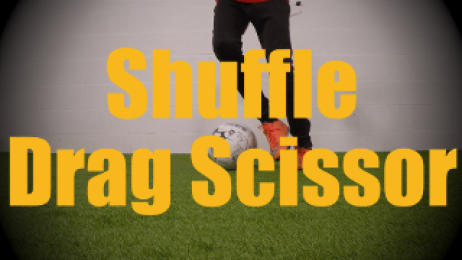 Shuffle Drag Scissor - Static Ball Control Drills for U12-U13