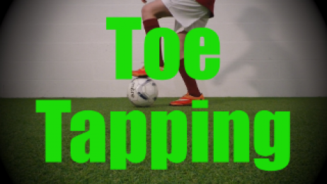 Toe Tapping - Static Ball Control Drills for U8-U9