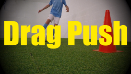 Drag Push - Feints and Fakes - 1v1 Moves for U10-U11