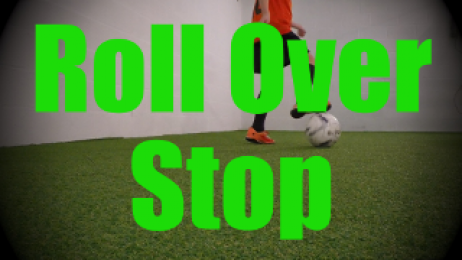 Roll Over Stop - Dynamic Ball Mastery Drills for U8-U9