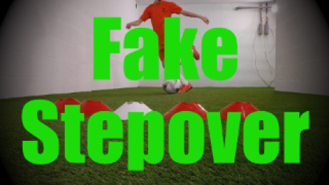 Fake Stepover - Feints and Fakes - 1v1 Moves for U8-U9