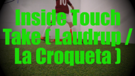 Inside Touch Take (Laudrup / La Croqueta) - Feints and Fakes - 1v1 Moves for U8-U9