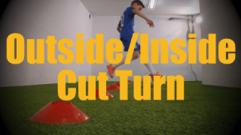 Outside/Inside Cut Turn - Cones Dribbling Drills for U12-U13