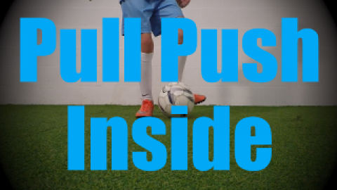 Pull Push Inside - Static Ball Control Drills for U6-U7