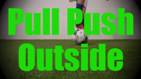 Pull Push Outside - Static Ball Control Drills for U8-U9