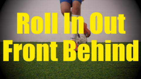 Roll In Out Front Behind - Static Ball Control Drills for U10-U11