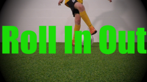 Roll In Out - Static Ball Control Drills for U8-U9