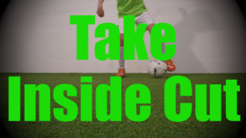 Take Inside Cut - Static Ball Control Drills for U8-U9