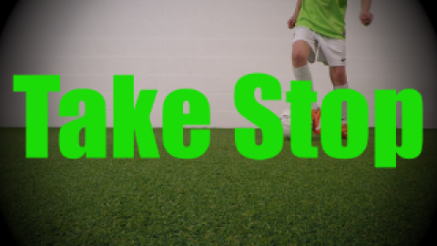 Take Stop - Static Ball Control Drills for U8-U9