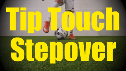 Tip Touch Stepover - Static Ball Control Drills for U10-U11