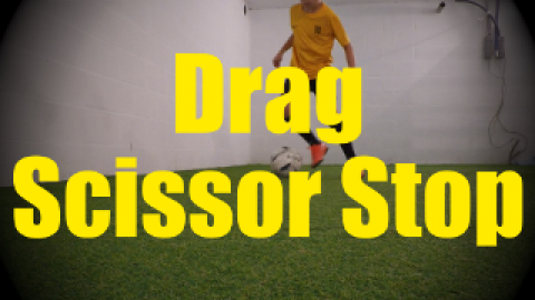 Drag Scissor Stop - Dynamic Ball Mastery Drills for U10-U11