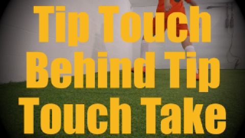 Tip Touch Behind (Tip Chop) Tip Touch Take (Laudrup / La Croqueta var.) - Dynamic Ball Mastery Drills for U10-U11