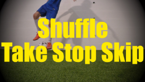 Shuffle Take Stop Skip - Static Ball Control Drills for U10-U11