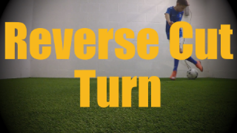 Reverse Cut Turn - Wall Work Drills for U12-U13