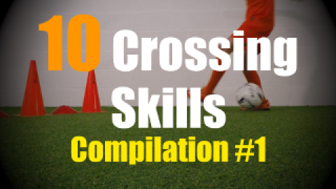 10 Crossing Moves to improve your 1v1 Soccer Skills - Compilation #1