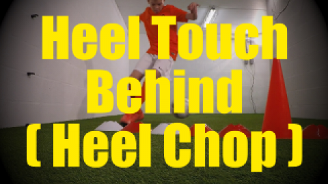 Heel Touch Behind (Heel Chop) - Crossing - Change of Direction - 1v1 Moves for U10-U11