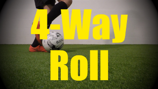4-Way Roll - Static Ball Control Drills for U10-U11