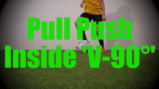 Pull Push Inside 'V-90°' - Static Ball Control Drills for U8-U9