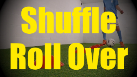 Shuffle Roll Over - Cones Dribbling Drills for U10-U11