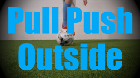 Pull Push Outside - Static Ball Control Drills for U6-U7