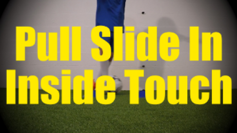 Pull Slide In Inside Touch - Static Ball Control Drills for U10-U11