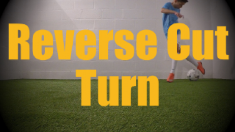 Reverse Cut Turn - Static Ball Control Drills for U12-U13