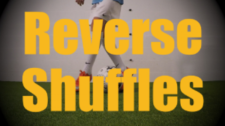 Reverse Shuffles - Static Ball Control Drills for U12-U13
