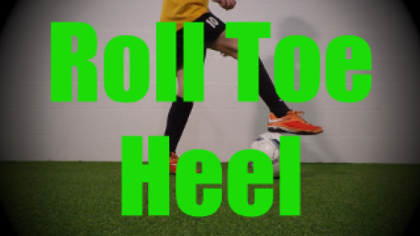 Roll Toe Heel - Static Ball Control Drills for U8-U9