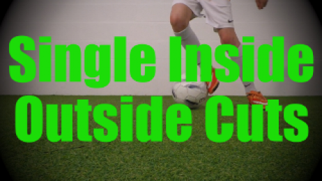 Single Inside Outside Cuts - Static Ball Control Drills for U8-U9