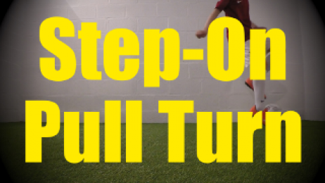 Step-On Pull Turn - Static Ball Control Drills for U10-U11