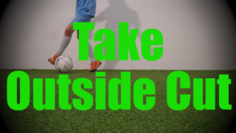 Take Outside Cut - Static Ball Control Drills for U8-U9
