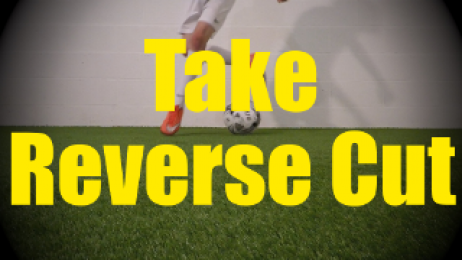 Take Reverse Cut - Static Ball Control Drills for U10-U11