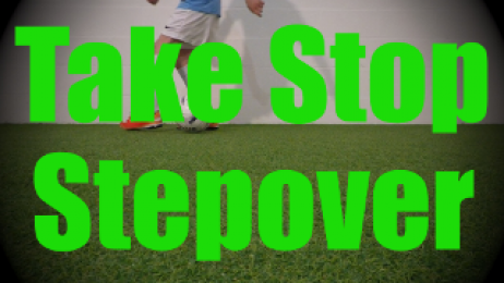 Take Stop Stepover - Static Ball Control Drills for U8-U9