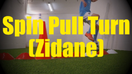 Spin Pull Turn (Zidane) - Crossing - Change of Direction - 1v1 Moves for U10-U11